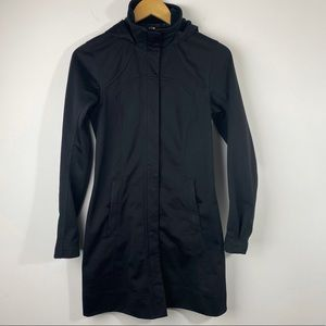 RARE Lululemon Apres Sport Rain Jacket Black 2